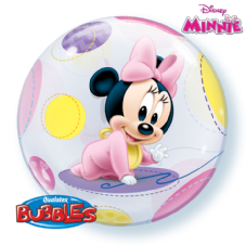 Disney Baby Minnie Bubble Balloon